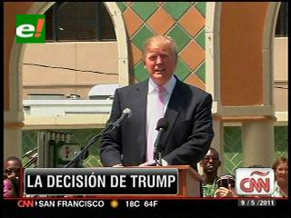 Trump no conducirá auto de seguridad en las 500 millas de Indianápolis