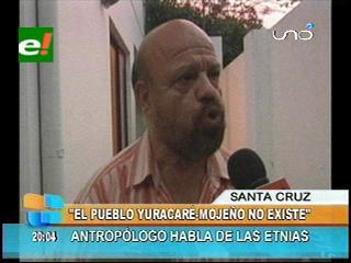 Rubén Poma: «No existe el Yuracaré – Mojeño, son dos pueblos distintos»