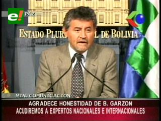 Gobierno agradece honestidad y amabilidad de Baltazar Garzón