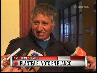 Jaime Solares plantea el «voto castigo» en las próximas elecciones