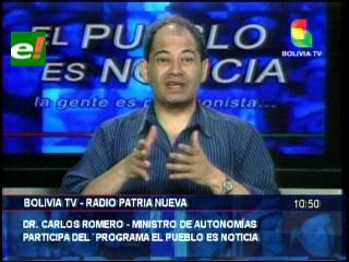 Ministro de Autonomías califica de racista y discriminatorio el no reconocer al Asambleísta Yuracaré-Mojeño