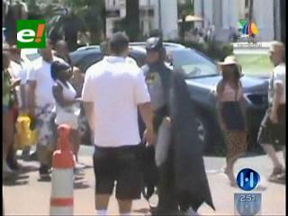 EEUU: Hombre se disfraza de Batman en Las Vegas y recibe golpiza