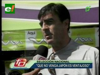 Quinteros: «Si no viene Japón a la Copa América es una buena noticia para nosotros»
