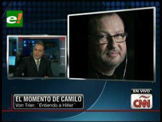 """Cineasta Lars Von Trier afirmó en Cannes """"entender a Hitler"""""""