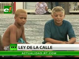 Los niños de la calle en Brasil: un drama en aumento
