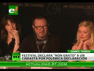 Cannes declara persona no grata a Lars von Trier por comentarios nazis