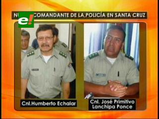 José Lanchipa sería el nuevo Comandante de la Policía en Santa Cruz