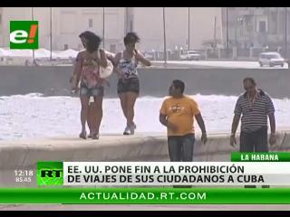 Los estadounidenses podrán gozar del turismo en Cuba