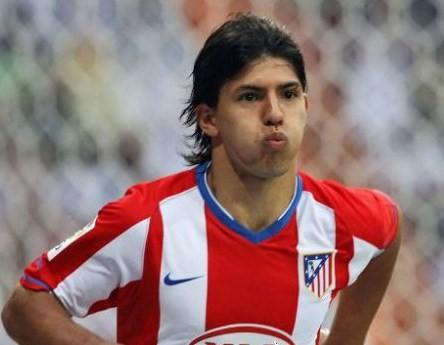 "El ""Kun"" Agüero dice adiós al Atlético de Madrid"
