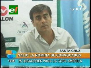 Gustavo Quinteros presentó nómina de 25 convocados para la Selección Nacional