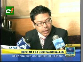 Imputan al ex contralor Marcelo Salles por el caso de los Gastos Reservados