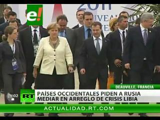 """Conclusión del G-8: """"Gadaffi no tiene futuro"""""""