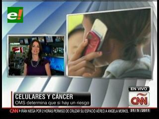 Celulares y el cáncer, OMS determina que si hay un riesgo