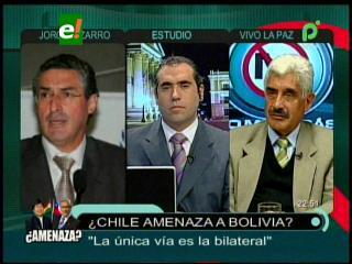 Senadores de Bolivia y Chile debaten sobre advertencia del Ministro de Defensa Andrés Allamand