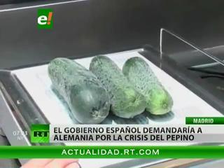 """España demandaría a Alemania por la """"crisis del pepino"""""""