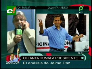 """Jaime Paz Zamora: """"Ollanta ha madurado, debemos ser positivos con su Gobierno"""""""