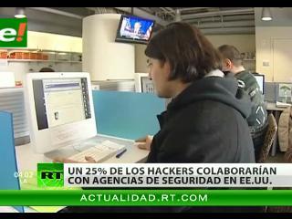 Un 25% de los piratas informáticos de EEUU colabora con los servicios secretos