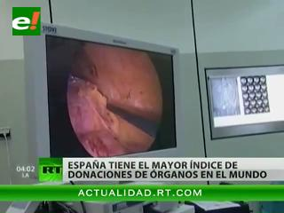 España, el país con el mayor índice de donación de órganos en el mundo