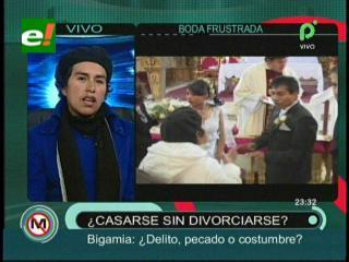 Bigamia: ¿Delito, pecado o costumbre?