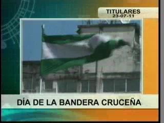 Se recuerda los 147 años de creacion de la Bandera Cruceña, Gobernación y cívicos le rinden homenaje