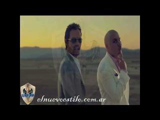El rapero PitBull y el salsero Marc Anthony estrenan juntos videoclip
