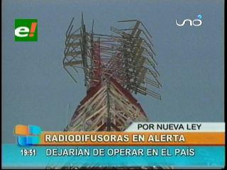 Radiodifusoras en alerta, dejarían de operar en el país tras la promulgación de la Ley de Telecomunicaciones