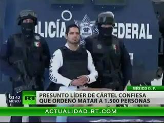 """México: Capturan al narcotraficante """"El Diego"""", asesino de 1.500 personas"""