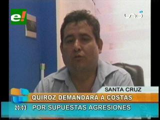 Concejal José Quiroz demandará al Gobernador Rubén Costas por discriminación y amenazas