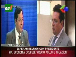 Empresarios piden al Ministro de Economía ocuparse de la subida del precio del pollo y de la inflación