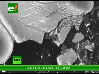 Un iceberg gigante se desprendió a causa del tsunami de Japón