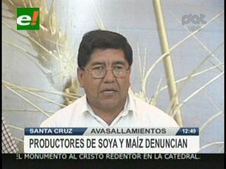 ANAPO denuncia el avasallamiento de 15 mil hectáreas de tierras productivas en Santa Cruz
