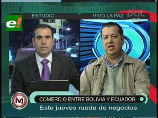 Comienza la rueda de negocios entre Bolivia y Ecuador