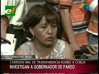 Comisión del Ministerio Anticorrupción investigará al Gobernador de Pando