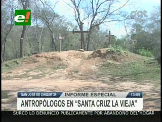 """Arqueólogos hacen importantes hallazgos en """"Santa Cruz la vieja"""""""