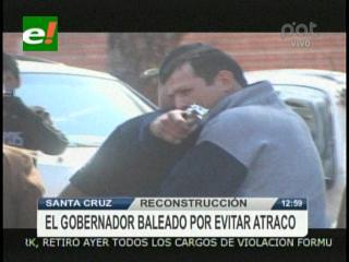 Policía hizo reconstrucción de la agresión a Rubén Costas