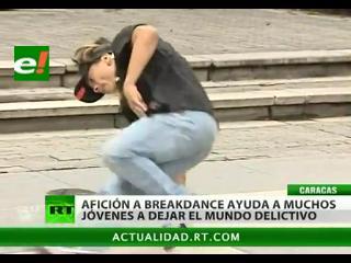 El breakdance, una nueva forma de escapar del mundo delictivo