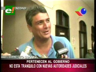 Ernesto Suárez: «Los jueces electos son puestos por el Gobierno, no confío en la nueva justicia»