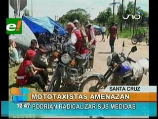 Santa Cruz aislada por los bloqueos