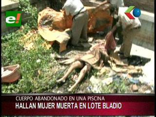 Encuentran cadáver de una mujer en un lote baldío