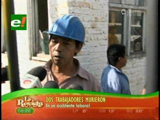Trabajadores mueren aplastados por enormes losas de mármol