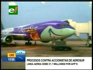 Gobierno anuncia juicio a ejecutivos de AeroSur