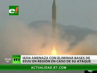 Irán amenaza con destruir las bases de EEUU en Medio Oriente si es atacado
