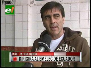 Quinteros es el nuevo técnico de Emelec