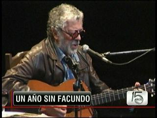 Homenajes a Facundo Cabral a un año de su muerte
