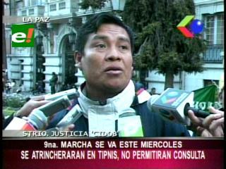 IX marcha se va este miércoles de La Paz, se atrincherarán en el TIPNIS para impedir la consulta previa