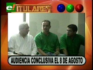 Fijan audiencia conclusiva contra Rubén Costas para el 8 de agosto