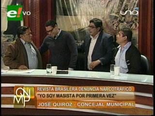 """Debate """"caliente"""" entre Víctor Hugo Velasco y José Quiroz"""