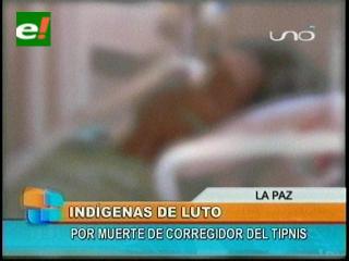 Luto en la IX marcha: Muere indígena que se accidentó en la zona de Yungas