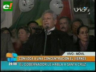 Rubén Costas convoca a una concentración en defensa del referéndum de los Estatutos Autonómicos