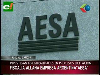 Corrupción en YPFB: Fiscales allanaron las oficinas de la empresa argentina AESA